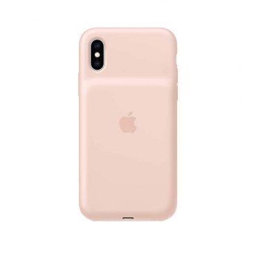 كفر بطارية أصلي Apple لآيفون Xs - زهري