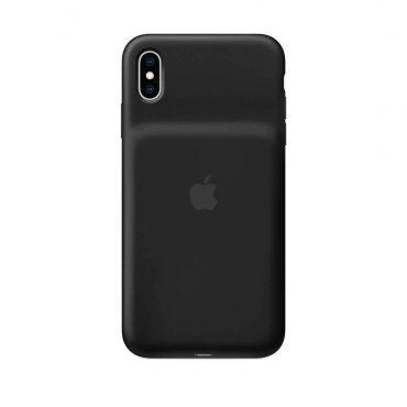 كفر بطارية أصلي Apple لآيفون Xs Max  - أسود