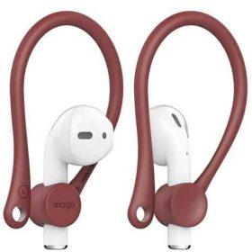 مشبك أذن لسماعات Apple من Elago - أحمر