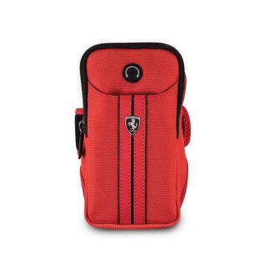 حقيبة ظهر فاخرة من فيراري - أحمر