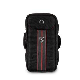 حامل الهاتف من فيراري - ربطة الذراع الرياضية - ألوان أسود وأحمر