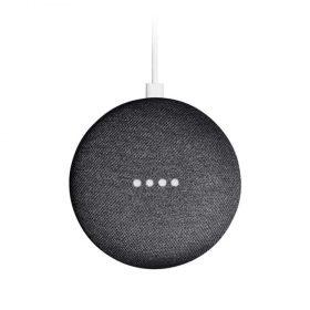 سماعة ذكية صغيرة Home Mini من جوجل - أسود