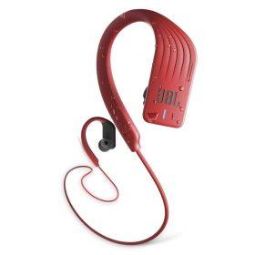 سماعات رأس لاسلكية للسباقات الرياضية مضادة للماء من jbl -أحمر