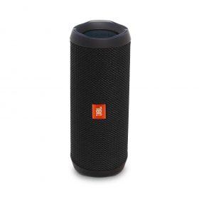 سماعة بلوتوث محمولة مضادة للماء Flip 4 من jbl - أسود