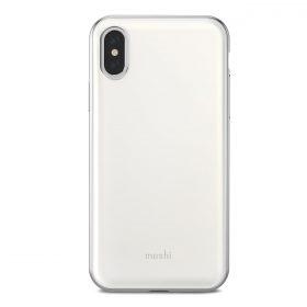 كفر iPhone XS/X من MOSHI - أبيض
