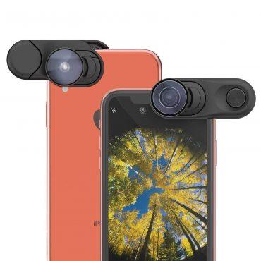 عدسة Fisheye وعدسة واسعة وعدسة ماكرو iPhone XR - OLLOCLIP