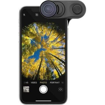 عدسة Fisheye وعدسة واسعة وعدسة ماكرو iPhone XS Max - OLLOCLIP