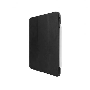كفر أصلي دفتر Elegante لآيباد Pro مقاس 12.9 إنش (2018) من Viva Madrid - أسود