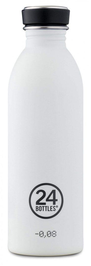 زجاجة مياه 500 مللي 24Bottles URBAN Bottle - أبيض