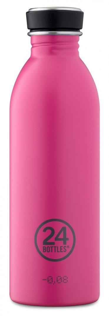 زجاجة مياه 500 مللي 24Bottles URBAN Bottle - وردي