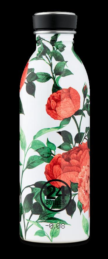 زجاجة مياه 500 مللي 24Bottles URBAN Bottle - شكل الزهور
