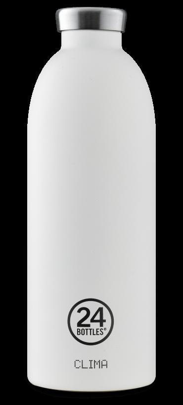 زجاجة مياه 850 مللي 24Bottles CLIMA Bottle - أبيض