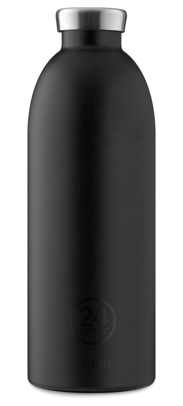 زجاجة مياه 850 مللي 24Bottles CLIMA Bottle - أسود