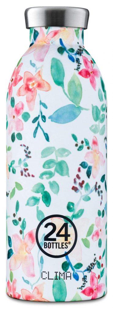 زجاجة مياه 500 مللي 24Bottles CLIMA Bottle - شكل الزهور