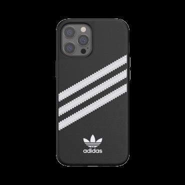 كفر آيفون 12 برو ماكس adidas SAMBA Apple iPhone Moulded Case - أسود/ أبيض