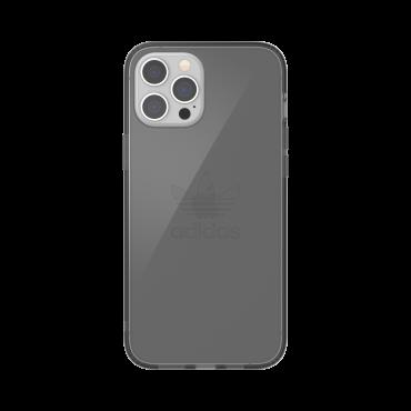 كفر آيفون 12 برو ماكس adidas ORIGINALS Apple iPhone Protective Clear Case - أسود