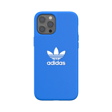 كفر آيفون 12 برو ماكس adidas ORIGINALS Apple iPhone Basic Moulded Case - أزرق/ أبيض