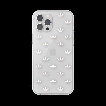 كفر آيفون 12 برو ماكس adidas SNAP Apple iPhone Entry Clear Case - شفاف