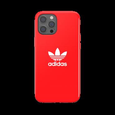 كفر آيفون 12 برو ماكس adidas SNAP Apple Trefoil Case - أحمر