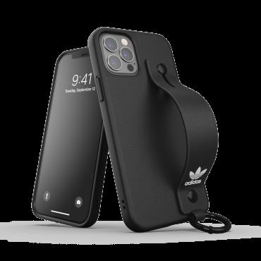 كفر آيفون 12/ 12 برو adidas ORIGINALS Apple iPhone HandStrap Case - أسود