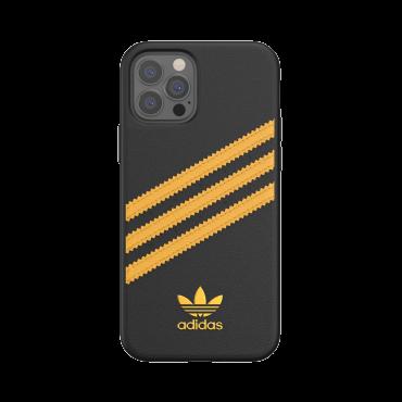 كفر آيفون 12/ 12 برو adidas SAMBA Apple iPhone Moulded Case - أسود / ذهبي