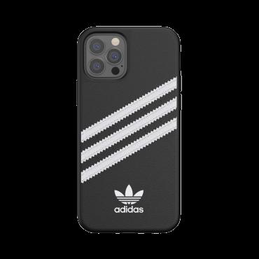 كفر آيفون 12/ 12 برو adidas SAMBA Apple iPhone Moulded Case - أسود / أبيض