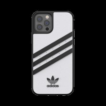 كفر آيفون 12/ 12 برو adidas SAMBA Apple iPhone Moulded Case - أبيض/ أسود