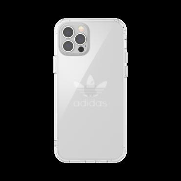 كفر آيفون 12/ 12 برو adidas ORIGINALS Apple iPhone Protective Clear Case - شفاف