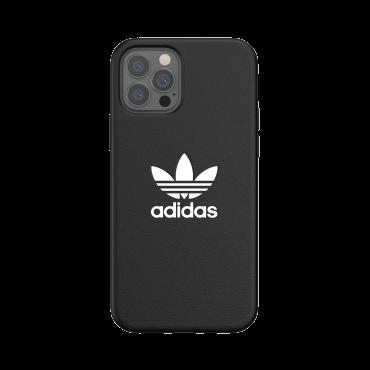 كفر آيفون 12/ 12 برو adidas ORIGINALS Apple iPhone Basic Moulded Case - أسود/ أبيض
