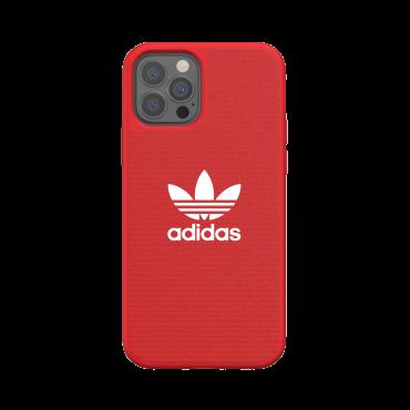 كفر آيفون 12/ 12 برو adidas ORIGINALS Apple iPhone  Canvas Case - أحمر