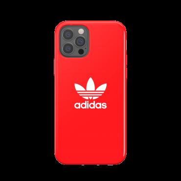 كفر Adidas - SNAP Apple iPhone 12 Pro Trefoil Case - أحمر
