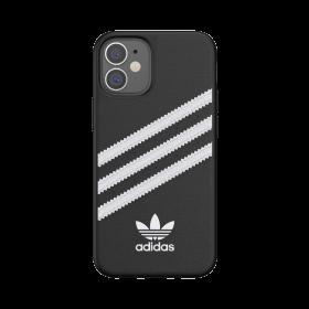 كفر Adidas - SAMBA Apple iPhone 12 Mini Moulded Case - أسود  أبيض