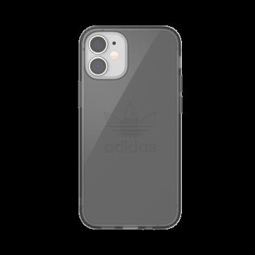 كفر Adidas - ORIGINALS Apple iPhone 12 Mini Protective Clear Case - أسود
