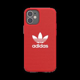 كفر Adidas - ORIGINALS Apple iPhone 12 Mini Canvas Case - أحمر