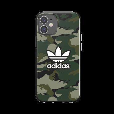 كفر Adidas - SNAP Apple iPhone 12 Mini Graphic Case - أسود
