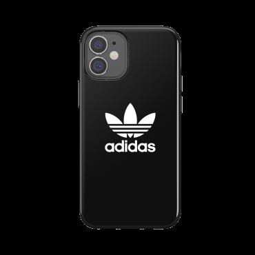 كفر Adidas - SNAP Apple iPhone 12 Mini Trefoil Case - أسود