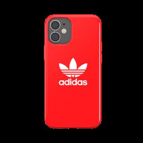 كفر Adidas - SNAP Apple iPhone 12 Mini Trefoil Case - أحمر