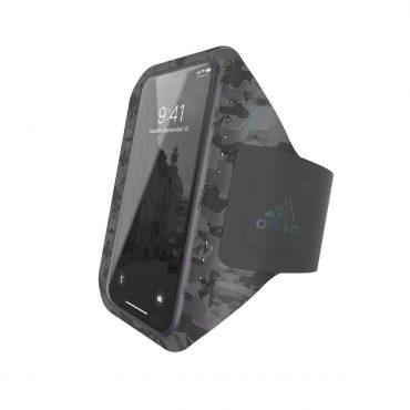 حامل موبايل مع حزام يد Adidas - Originals Universal Sports Armband (L) Phone Holder - أسود