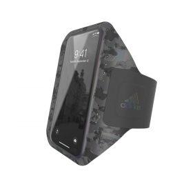 حامل موبايل مع حزام يد Adidas - Originals Universal Sports Armband (S) Phone Holder - أسود
