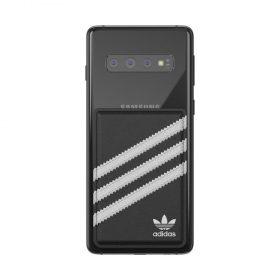 محفظة بطاقات للموبايل  Adidas - Originals Phone Pocket Universal Wallet Card Holder - أسود  أبيض