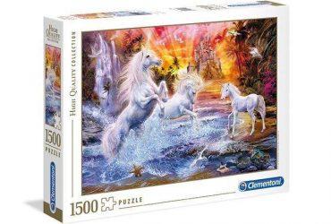 لعبة تطبيقات 1500 قطعة CLEMENTONI - Wild Unicorn