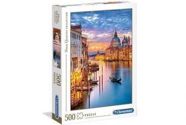 لعبة تطبيقات 500 قطعة CLEMENTONI - Lighting Venice