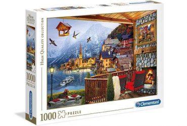 لعبة تطبيقات 1000 قطعة CLEMENTONI - Puzzle Hallstatt