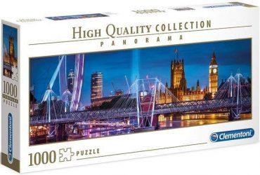 لعبة تطبيقات 1000 قطعة CLEMENTONI - The Bridge Of London
