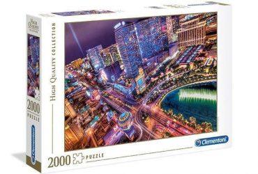 لعبة تطبيقات 2000 قطعة CLEMENTONI - View Of Las Vegas
