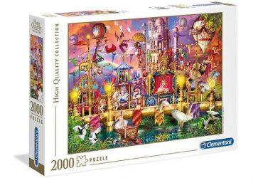 لعبة تطبيقات 2000 قطعة CLEMENTONI - The Circus
