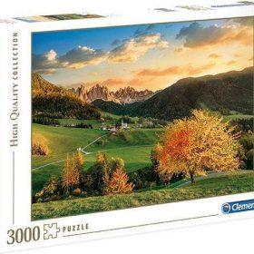لعبة تطبيقات 3000 قطعة CLEMENTONI - Puzzle The Alps