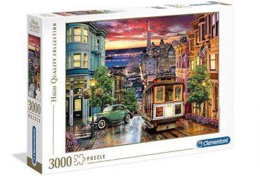 لعبة تطبيقات 3000 قطعة CLEMENTONI - San Francisco
