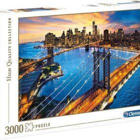 لعبة تطبيقات 3000 قطعة CLEMENTONI - New York