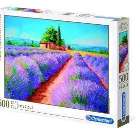 لعبة تطبيقات 500 قطعة CLEMENTONI – Lavender Scent